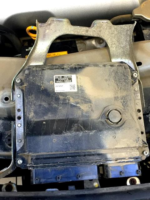LEXUS RX350 снижение мощности двигателя - электронный блок управления (ЭБУ) двигателя