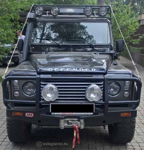 LAND ROVER DEFENDER для экспедиций